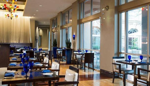 Pelagia Trattoria restaurant at Renaissance Tampa International
