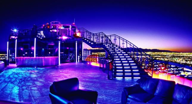 Rooftop nightclub at Rio All Suites Hotel and Casino