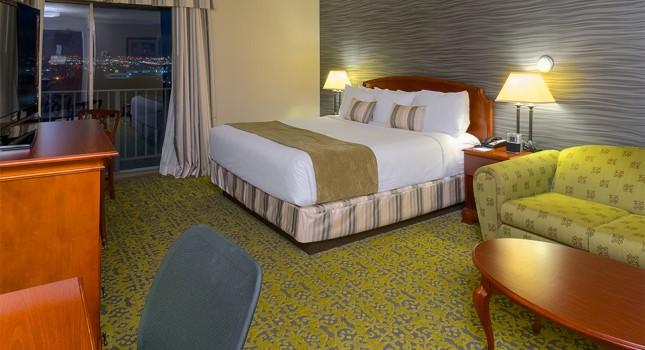 Room at Salt Lake Plaza Hotel