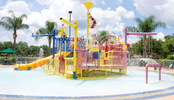 Water playground at Summer Bay Orlando