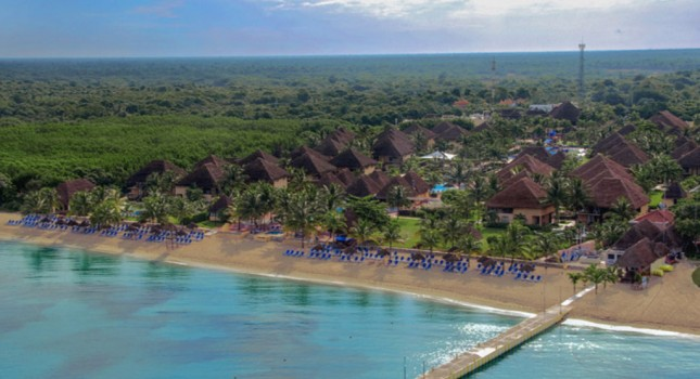 Aerial view of Allegro Cozumel Resort