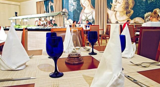 Italian restaurant at Allegro Cozumel Resort