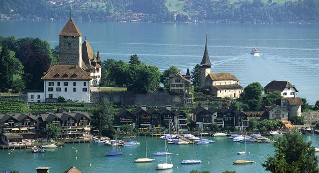View over Lucerne in Switzerland