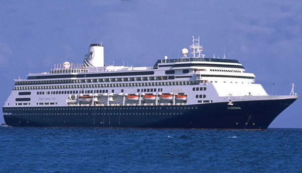 MS Zaandam cruise ship