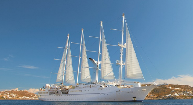 Wind Spirit cruise ship