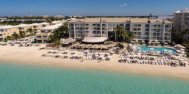 Grand Cayman Marriott Beach Resort - aerial view