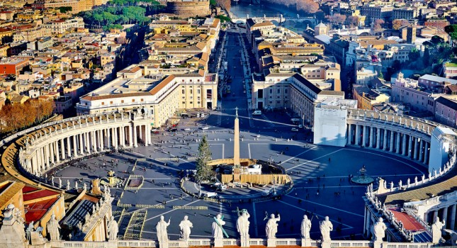 Rome view in Italy