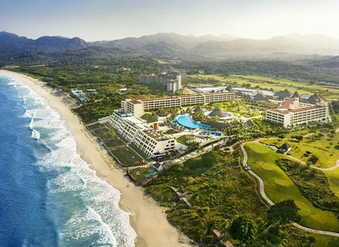 Iberostar Playa Mita resort - aerial view