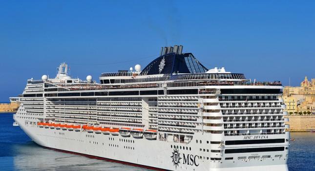 MSC Divina ship