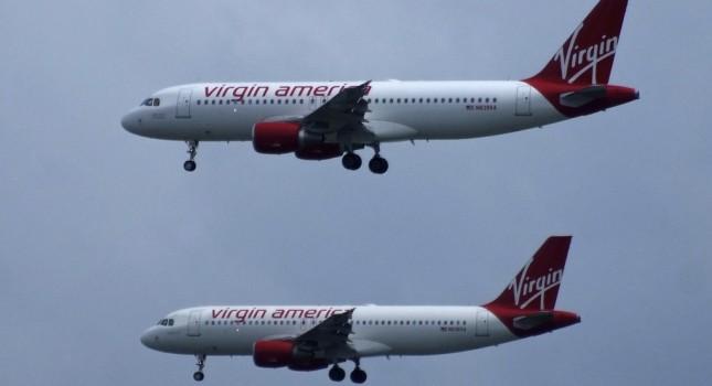 Virgin America aircrafts