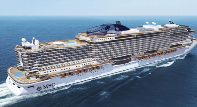 MSC Seaside ship